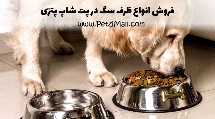 خرید ظرف سگ
