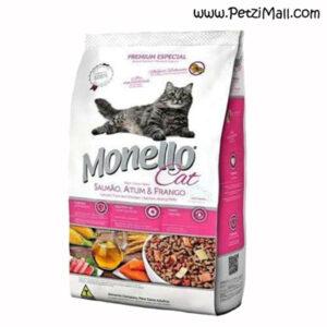 غذای گربه بالغ مونلو